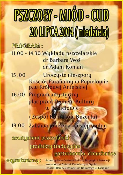 Spotkanie pszczelarskie w Popielowie