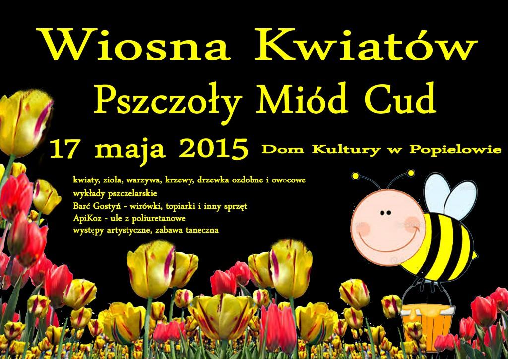 Wiosna Kwiatów. Pszczoły Miód Cud